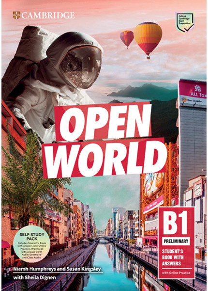 Open World Preliminary Self-Study Pack