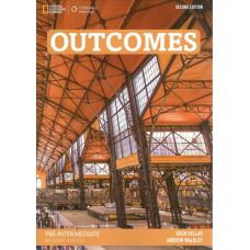 Підручник Outcomes Pre-Intermediate Student's Book with Class DVD