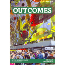Підручник Outcomes Upper-Intermediate Student's Book with Class DVD