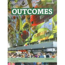 Зошит Outcomes Upper-Intermediate Workbook with Audio CD