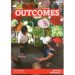Підручник Outcomes Advanced Student's Book with Class DVD