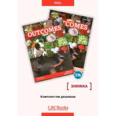 Комплект: Підручник і зошит Outcomes Advanced Pack
