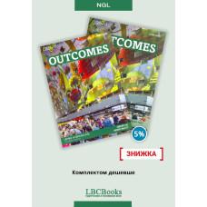 Комплект: Підручник і зошит Outcomes Upper-Intermediate Pack