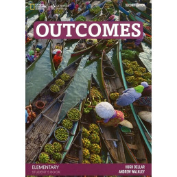 Підручник Outcomes Elementary Student's Book with Class DVD