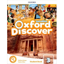 Підручник Oxford Discover 3 Student's Book