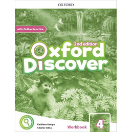 Зошит Oxford Discover 4 Workbook