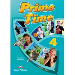 Книга вчителя Prime Time 4 Teacher's Book