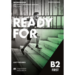 Зошит Ready for B2 First 4th Edition Workbook with Key