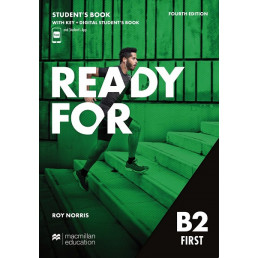 Підручник Ready for B2 First 4th Edition Student's Book with Key