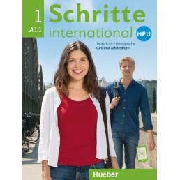 Підручник і зошит Schritte international Neu 1 Kurs- und Arbeitsbuch