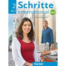 Підручник і зошит Schritte international Neu 2 Kurs- und Arbeitsbuch