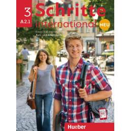 Підручник і зошит Schritte international Neu 3 Kurs- und Arbeitsbuch