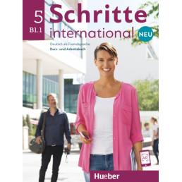 Підручник і зошит Schritte international Neu 5 Kurs- und Arbeitsbuch