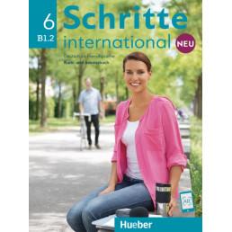Підручник і зошит Schritte international Neu 6 Kurs- und Arbeitsbuch