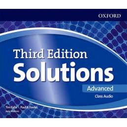 Аудіо диск Solutions 3rd Edition Advanced Class Audio CD