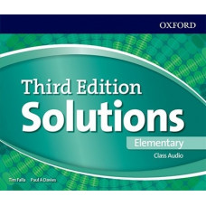 Аудіо диск Solutions 3rd Edition Elementary Class Audio CD