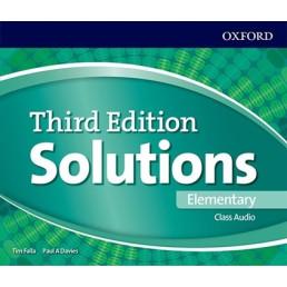 Аудіо диск Solutions 3rd Edition Elementary Class Audio CD