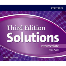Аудіо диск Solutions 3rd Edition Intermediate Class Audio CD