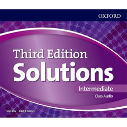 Аудіо диск Solutions 3rd Edition Intermediate Class Audio CD