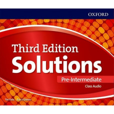 Аудіо диск Solutions 3rd Edition Pre-Intermediate Class Audio CD