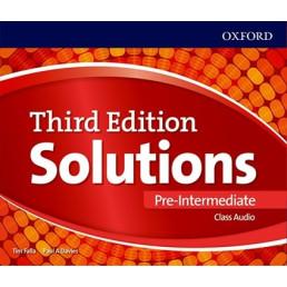 Аудіо диск Solutions 3rd Edition Pre-Intermediate Class Audio CD