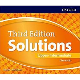Аудіо диск Solutions 3rd Edition Upper-Intermediate Class Audio CD