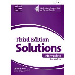 Книга вчителя Solutions 3rd Edition Intermediate Teacher's Book