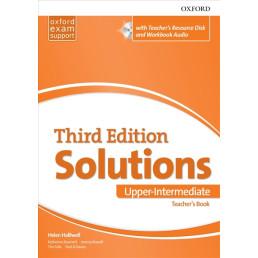Книга вчителя Solutions 3rd Edition Upper-Intermediate Teacher's Book