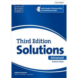 Книга вчителя Solutions 3rd Edition Advanced Teacher's Book