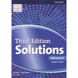 Підручник Solutions 3rd Edition Advanced Student's Book