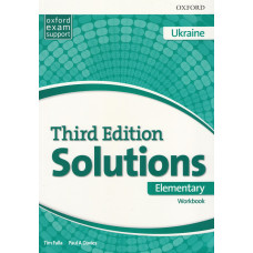 Зошит Solutions 3rd Edition Elementary Workbook