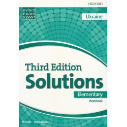 Зошит Solutions 3rd Edition Elementary Workbook