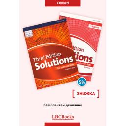 Комплект: Підручник і зошит Solutions Pre-Intermediate Pack