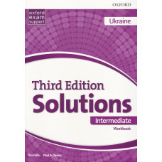 Зошит Solutions 3rd Edition Intermediate Workbook
