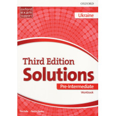 Зошит Solutions 3rd Edition Pre-Intermediate Workbook