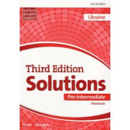 Зошит Solutions 3rd Edition Pre-Intermediate Workbook