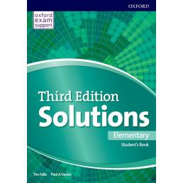 Підручник Solutions 3rd Edition Elementary Student's Book