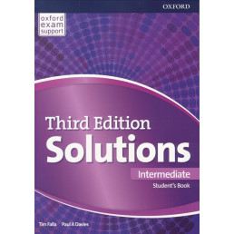 Підручник Solutions 3rd Edition Intermediate Student's Book