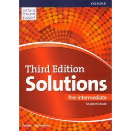 Підручник Solutions 3rd Edition Pre-Intermediate Student's Book