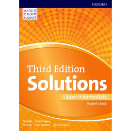 Підручник Solutions 3rd Edition Upper-Intermediate Student's Book