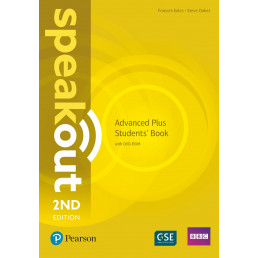 Підручник Speakout 2nd Edition Advanced Plus Student's Book with DVD-ROM
