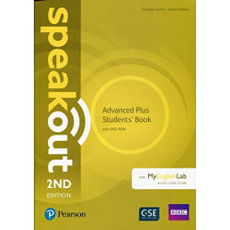 Підручник Speakout 2nd Edition Advanced Plus Student's Book with DVD-ROM and MyEnglishLab