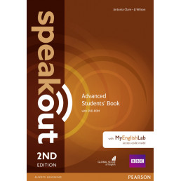 Підручник Speakout 2nd Edition Advanced Student's Book with DVD-ROM and MyEnglishLab