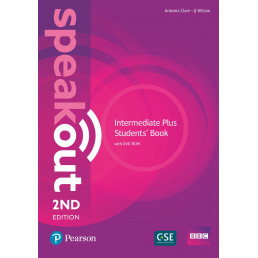 Підручник Speakout 2nd Edition Intermediate Plus Student's Book with DVD-ROM