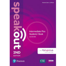 Підручник Speakout 2nd Edition Intermediate Plus Student's Book with DVD-ROM and MyEnglishLab