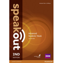 Підручник Speakout 2nd Edition Advanced Student's Book with DVD-ROM