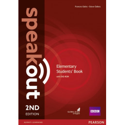 Підручник Speakout 2nd Edition Elementary Student's Book with DVD-ROM