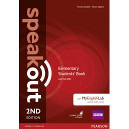 Підручник Speakout 2nd Edition Elementary Student's Book with DVD-ROM and MyEnglishLab