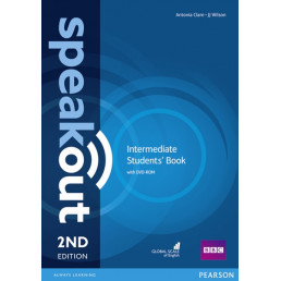 Підручник Speakout 2nd Edition Intermediate Student's Book with DVD-ROM