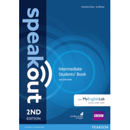 Підручник Speakout 2nd Edition Intermediate Student's Book with DVD-ROM and MyEnglishLab